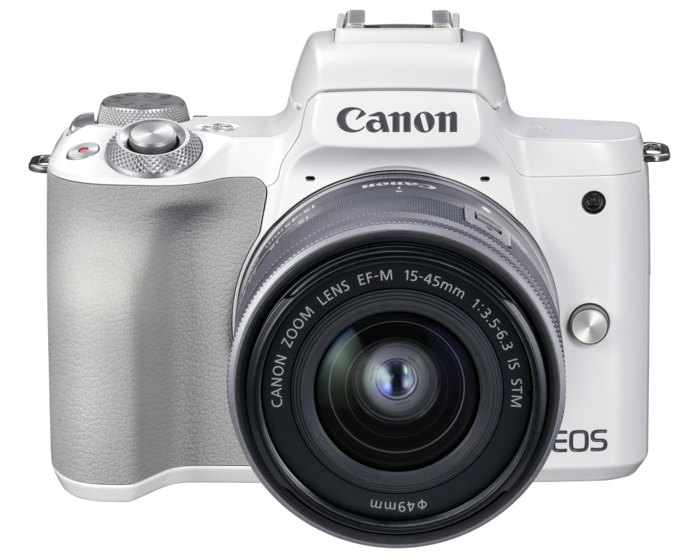 Canon EOS M50 II + 15-45 IS STM weiss - 8