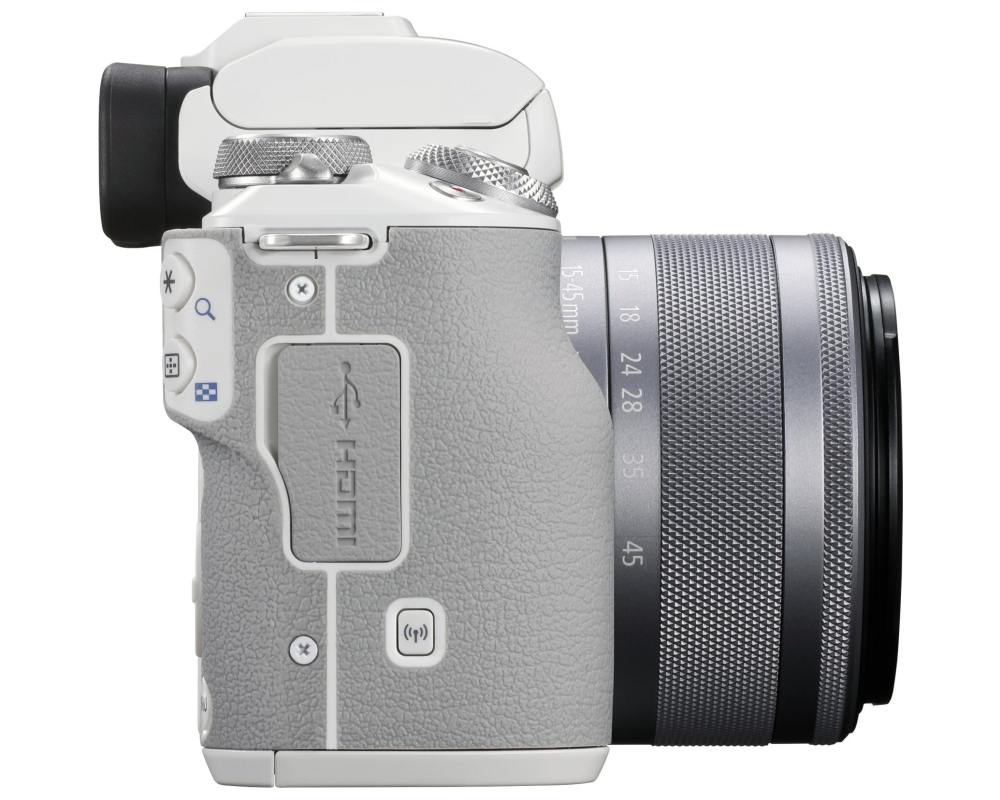 Canon EOS M50 II + 15-45 IS STM weiss - 3