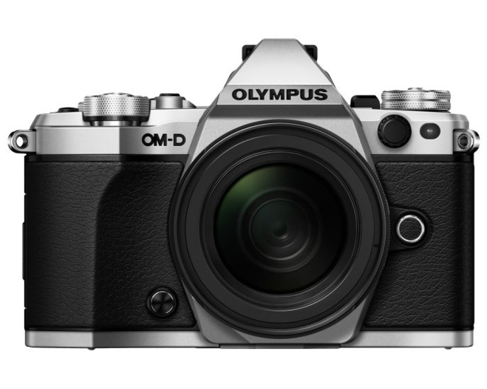 Olympus OM-D E-M 5 Mark II + 12-40 Kit silber -