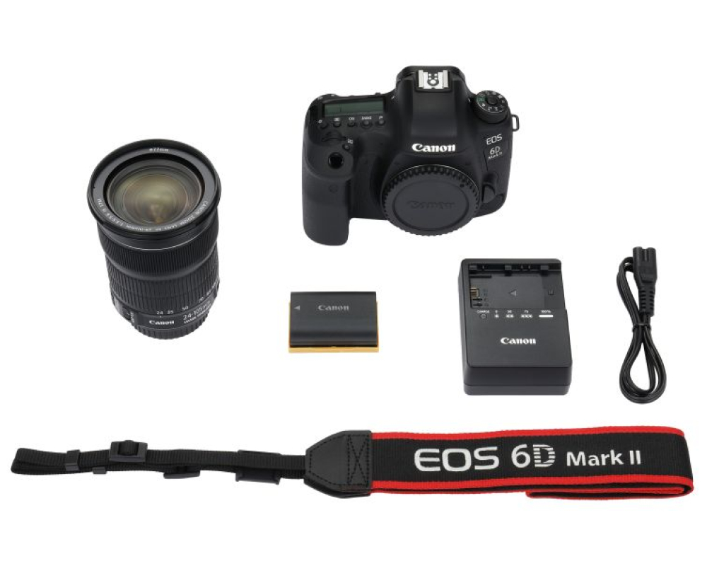 Canon EOS 6D Mark II + 24-105 IS STM - 6