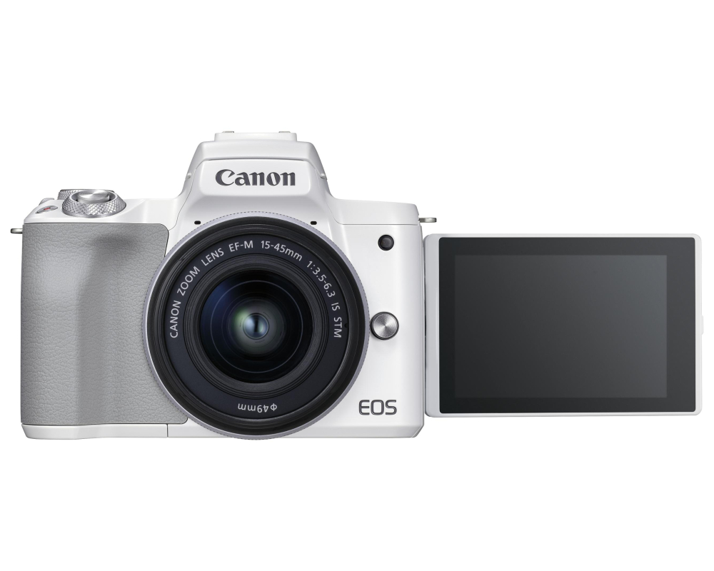 Canon EOS M50 II + 15-45 IS STM weiss - 7