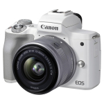 Canon EOS M50 II + 15-45 IS STM weiss