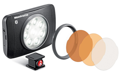 Manfrotto LED Lumimuse 8 mit Bluetooth