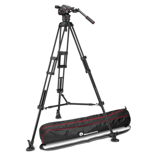 Manfrotto Stativ 546B + Nitrotech N8 Video-Kopf