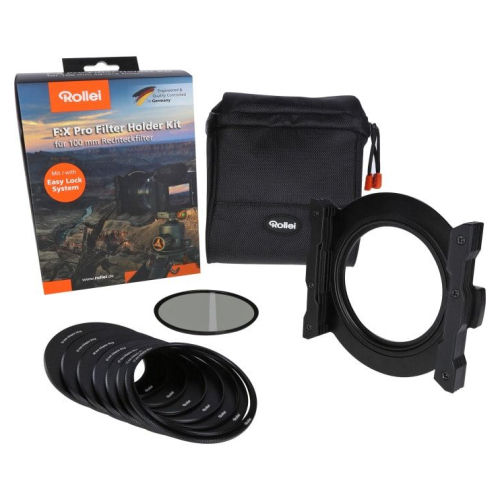 Rollei F:X Pro Filter Holder Kit 100mm