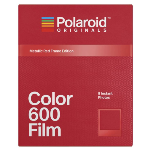 Polaroid 600 Color Metallic Red Frame
