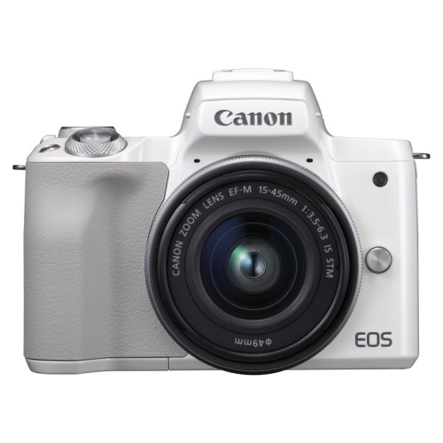 Canon EOS M50 + 15-45 IS STM weiss
