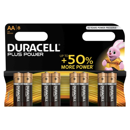 Duracell Plus Power Mignon 8er-Pack