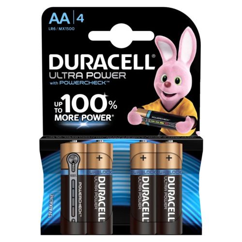 Duracell Ultra Power Mignon 4er-Pack AA