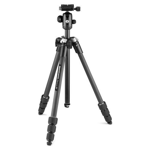 Manfrotto Stativ-Set Element MII Mob CF BK 4S BH