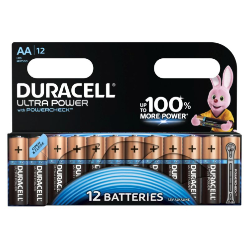 Duracell Ultra Power Mignon 12er-Pack AA