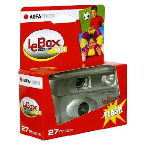Agfa Einwegkamera Le Box Flash