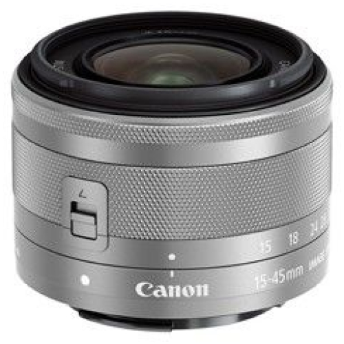 Canon EF-M 15-45/3,5-6,3 IS STM silber