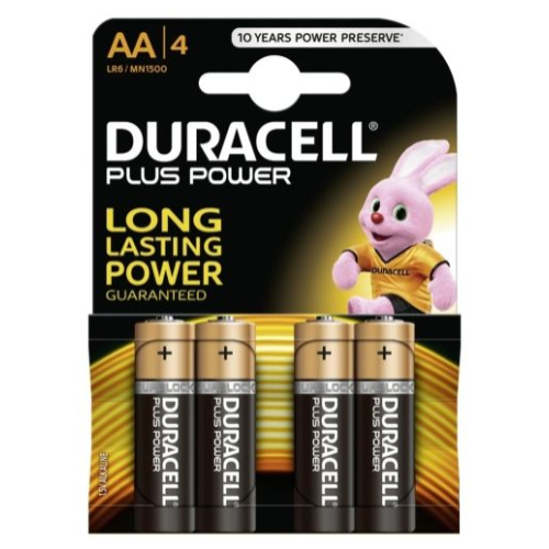 Duracell Plus Power Mignon 4er-Pack
