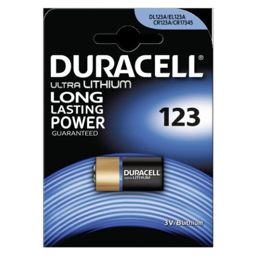Duracell Ultra Lithium 123