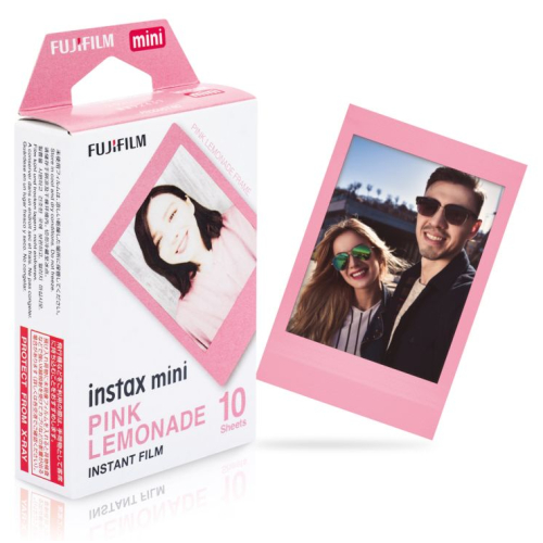 Fuji Instax Mini Film Pink Lemonade