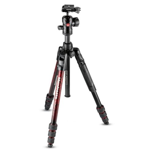 Manfrotto Stativ-Set Befree Adv. Alu Twist rot