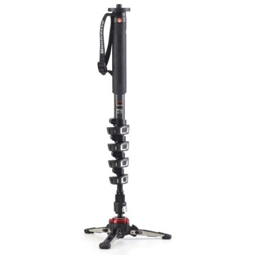 Manfrotto Stativ Monopod XPRO Video CF 5 Sec.