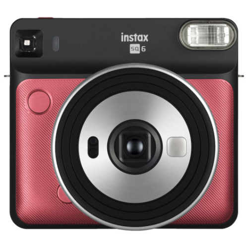 Fuji Instax Square SQ6 ruby red