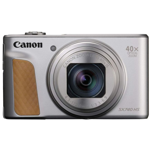 Canon PowerShot SX 740 HS Travel Kit silber