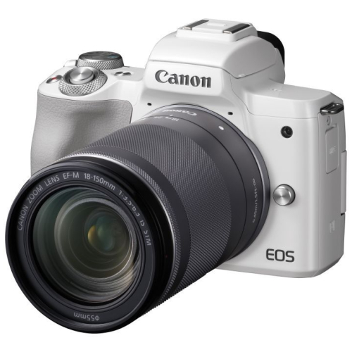 Canon EOS M50 + EF-M 18-150 IS STM weiss