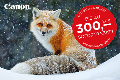 Canon Winter-Promotion